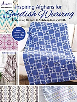 Inspiring Afghans for Swedish Weaving by [Katherine Kennedy]