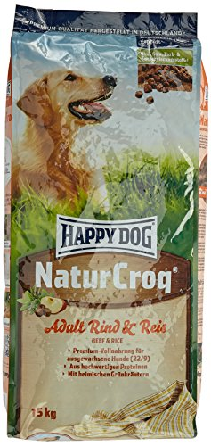 Happy Dog NaturCroq Beef & Rice Comida para Perros - 15000 gr