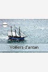 Voiliers d'antan: Photos aériennes d'anciens voiliers. Calendrier mural A3 horizontal Broché