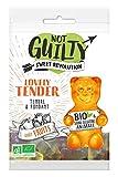 Not Guilty Gominolas Osito Quiereme Mucho Ecológicas - Mezcla De Frutas: Limón, Naranja, Fresa, Manzana Y Grosella Negra - Vegetariano, Vegano - Bolsita 50 G