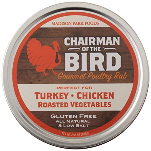Chairman of the Bird Gourmet Turkey Rub and Classic Holiday Seasoning Gluten Free, All Natural, No...