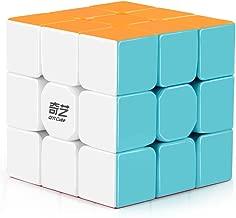 D-FantiX Qiyi Warrior W 3x3 Speed Cube Stickerless 3x3x3 Magic Cube Puzzles