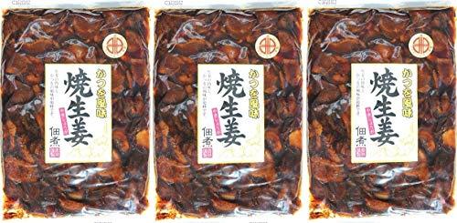 かつお風味 焼生姜 佃煮 かつを風味 惣菜 やきしょうが 3個セット