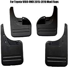 4 Guardabarros Aletas De Barro Coche ,para Toyota Vigo 4WD 2005-2019 Moldeados Mud Flap Splash Guardia Fender De Coche FaldóN Juego De Delanteras Y Traseras 4 Piezas (Size : Vigo 4WD 2015-2019)