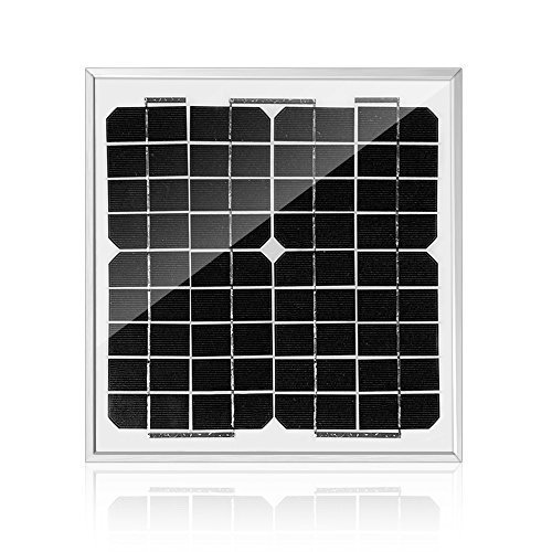 ACOPOWER 10 Watt 12 Volt Mono Solar Panel