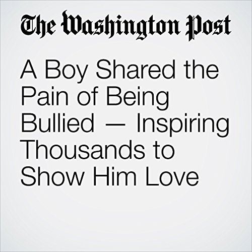 A Boy Shared the Pain of Being Bullied — Inspiring Thousands to Show Him Love copertina