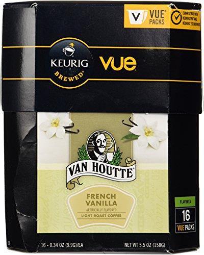 Van Houtte French Vanilla Coffee Keurig Vue Portion Pack, 16 Count