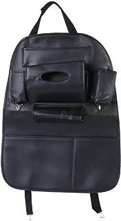 Car Stowing Tidying Car Storage Bag Car Interior Leather Multifunctional Seat Back Hanging Bag Storage for Drinks Umbrella...