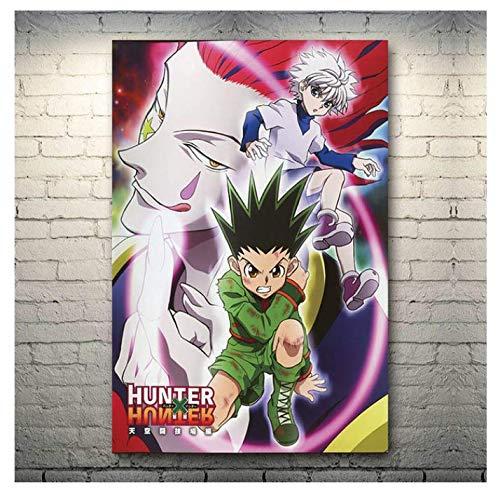 H/F Hunter X Hunter Anime Art Poster Stampa Pollici Soggiorno Decorazione Murale Pittura Senza Cornice (15,7 X 19,6 Pollici) G8663