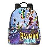 Rayman Legends Adult Travel Laptop Backpack kids Fashion Trend Knapsack Travel Hiking Rucksack