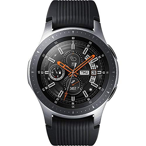 Smartwatch Samsung Galaxy Watch Bt 46mm Pulseira de Silicone, Bluetooth 4.2 e 4gb Sm-r800 Prata