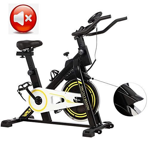 AYHa Bicicletas de spinning, bicicletas estáticas ultra silencioso, Apoyabrazos suaves   Los soportes de múltiples funciones, Equipo de Deporte en la pérdida de peso Home