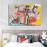 KWzEQ Cartel de Lienzo de Pared de Arte Abstracto decoración de Pared Moderna para Sala de Estar decoración del hogar,Pintura sin Marco,60x90cm