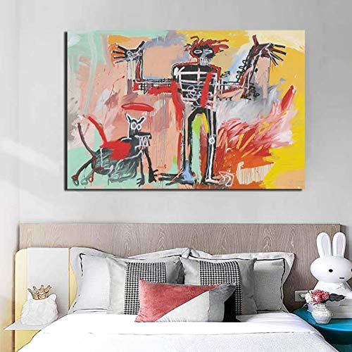 Moderne Wanddekoration der Wandkunstplakat der abstrakten Kunst für Hauptdekoration des Wohnzimmers,Rahmenlose Malerei,50x75cm