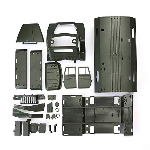 ACHICOO WPL B36 Ural 1/16 Kit 2.4G 6WD Rc Auto Military Truck Rock Crawler Keine ESC Batterie Sender Ladegerät
