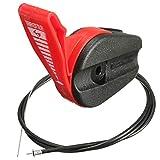 Kungfu Mall 65 pulgadas universal de corte de césped del acelerador de cable...