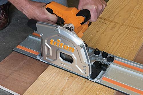Triton 534156 Spursägen-Set, 1400 W, 185 mm, 4-teilig, Schwarz