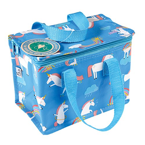 Rex London Minikühltasche Snacktasche Lunch Bag isolierte Lunch Tasche aus recycelten Plastikflaschen (Einhorn)