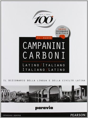 Nomen. Il nuovo Campanini Carboni. Latino-italiano, italiano-latino. Con Ubique dizionario digitale