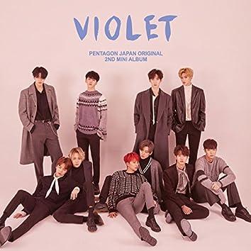 PENTAGON JAPAN ORIGINAL 2ND MINI ALBUM 'VIOLET'