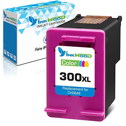 Inkwood Remanufactured 300XL Cartucho de Tinta 300 XL (1 Color) pour HP PhotoSmart C4680 C4780 DeskJet F4580 F2480 F2400 F2420 F4280 F4500 D5560 Envy 100 F4500 C4780 120 D1658 D2530 D2566 D2568