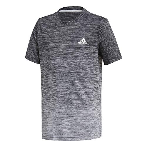 adidas Jungen B A.R. Grad Tee T-Shirt, Black/White, 4-5Y