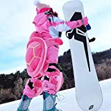 Equipo Protector de esquí, Conjunto de Engranajes Protectores de esquí para niños, niño y Adulto, protección Linda de la Cadera Almohadilla de Almohadilla de Rodilla Engranaje Protector de la Rodilla