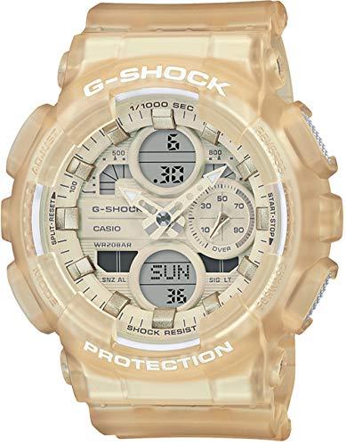 Casio G-Shock S-Series Transparent Analog-Digital Womens Sports Watch GMAS140NC-7A
