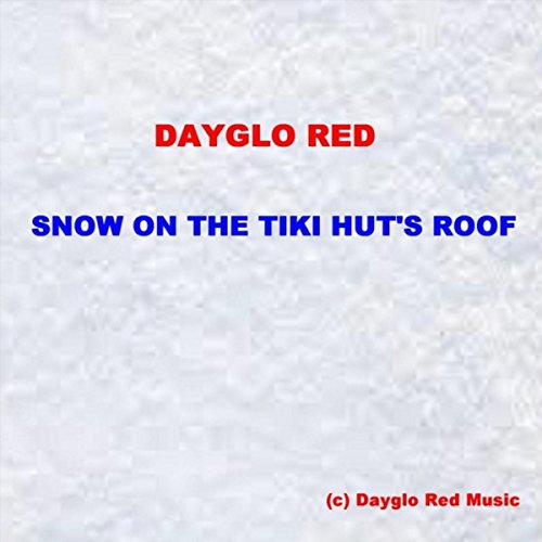 Snow on the Tiki Hut's Roof