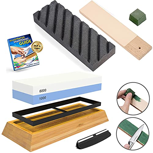 9-Culinary Obsession Complete Whetstone Kit