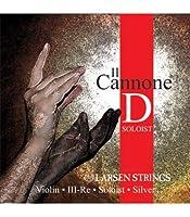 LARSEN Il CONNONE SOLOIST Cuerda 3ェ D (Re) Medium Violin Plata