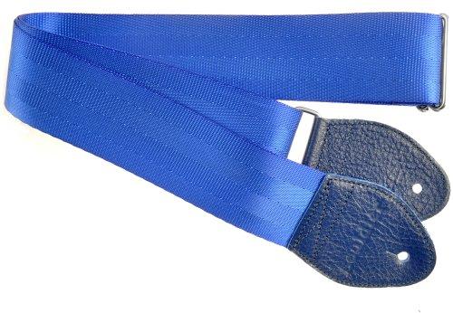 Souldier Correia de guitarra elétrica de cinto de segurança reciclado GS000BL04BL, azul