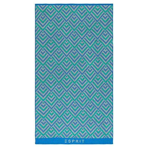 ESPRIT Strandtuch Zora Blue 100x180 cm 100x180 cm