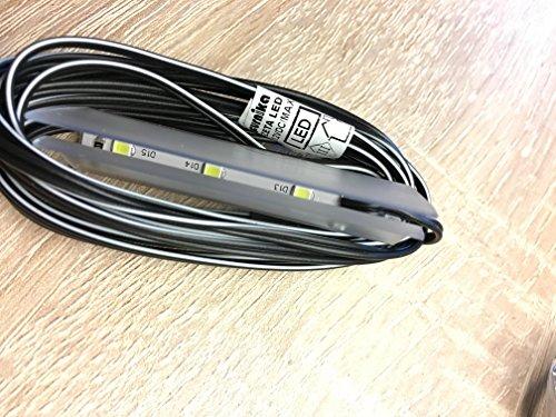 LED Beleuchtung 2er SET für Glasböden Kaltweiß - 2