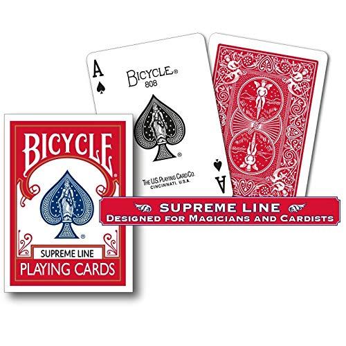 Mazzo di carte Bicycle - Supreme Line - Red Back