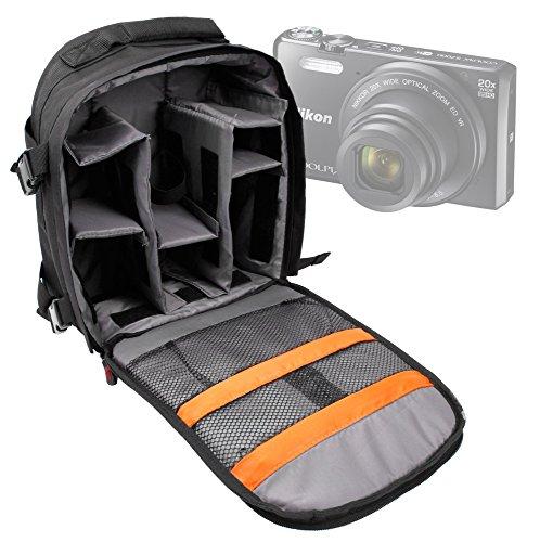 DURAGADGET Mochila para Cámara Reflex Nikon S9900 | Coolpix