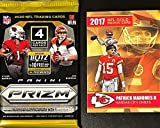2020 Panini PRIZM Authentic Factory SEALED Football PACK - Try for VALUABLE Justin Herbert and Joe Burrow SILVER Prizm Rookie Cards - Plus Novelty PATRICK MAHOMES Card Shown!