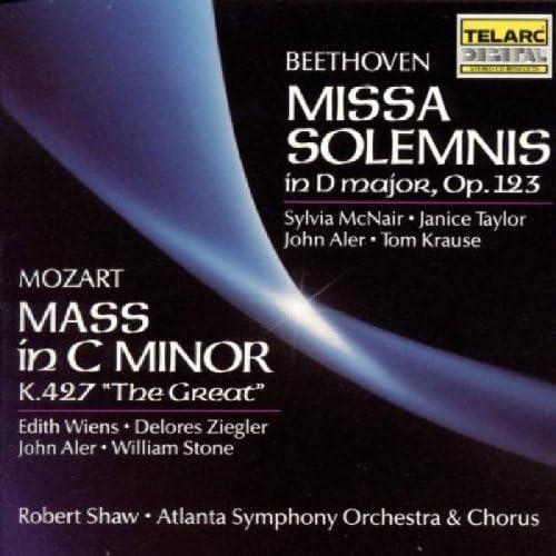 Beethoven: Missa Solemnis In D major, Op. 123; Mozart: Mass In C Minor, K. 427 The Great by Robert Shaw (1990-01-01)