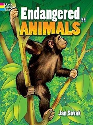 Endangered Animals (Dover Nature Coloring Book) by Jan Sovak (2009-02-18)