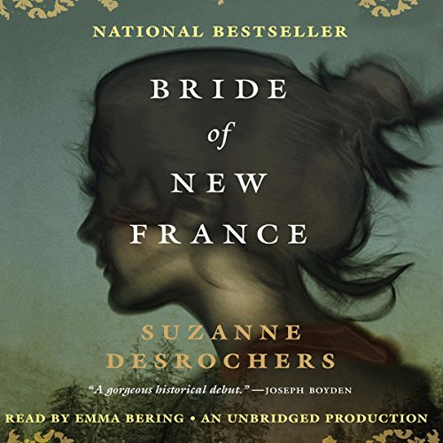 Bride of New France audiobook cover art