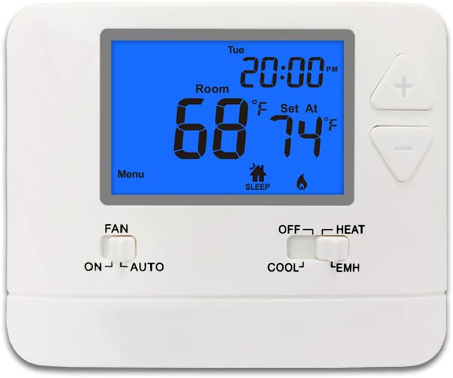 TK-721 Opening large release sale Digital Non-Programmable 67% OFF of fixed price 1C 2H Thermostat