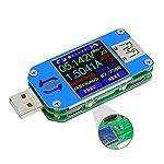 RD UM25 UM25C USB Meter Tester Voltage Current Bluetooth Battery Power Charger Voltmeter Ammeter Multimeter Tester (UM25C(Bluetooth version))