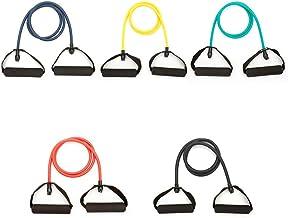 Anjing Resistance Band met handvatten Multi kleuren trektouw voor krachttraining 5 Stks