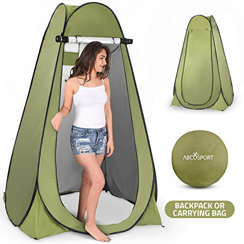 Pop-Up Privacy Shower For Camping
