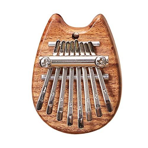 Kalimba Thumb Piano Mini Kalimba 8 Key Portable Mbira Dedos