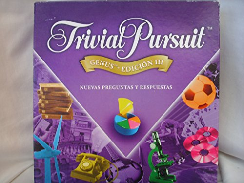 Hasbro - Trivial Pursuit Genus Edición III