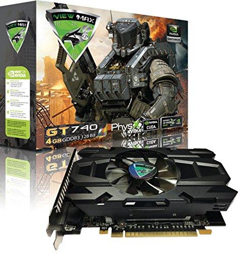 ViewMax GeForce GT 740 4GB GDDR3 128 Bit PCI Express (PCIe)...