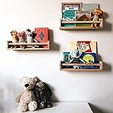 Crazymoto Nursery Bookshelf Set of 2 Kids Baby...