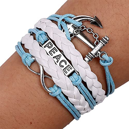 Kejing Bracelet Ship Anchor Pear Super special price Max 75% OFF Multi-Stor Combination