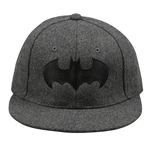 DC Comics Batman Mono Gorro de Punto, Gris (Grey GRY), Taille Unique para Hombre